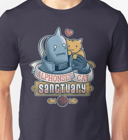 Alphonse's Cat Sanctuary Unisex T-Shirt