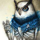 Spock Owl by Kaitlin Beckett
