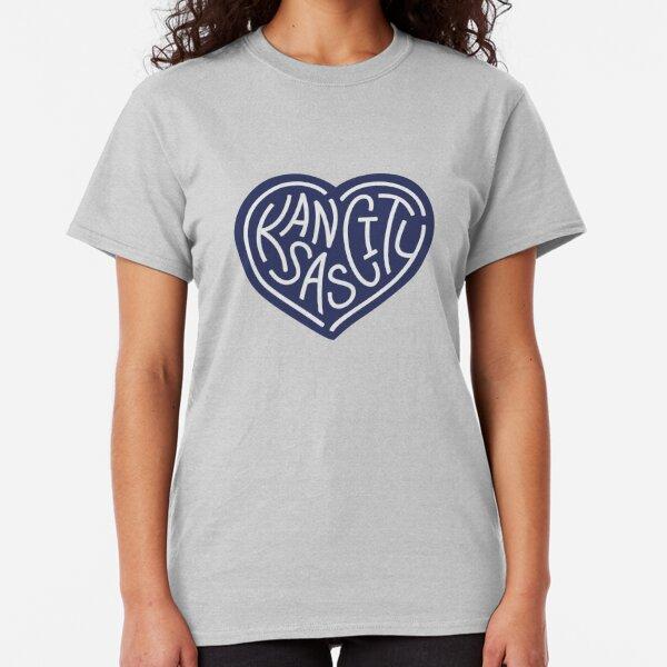LOVE KC (dark blue x white) Classic T-Shirt
