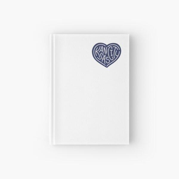 LOVE KC (dark blue x white) Hardcover Journal
