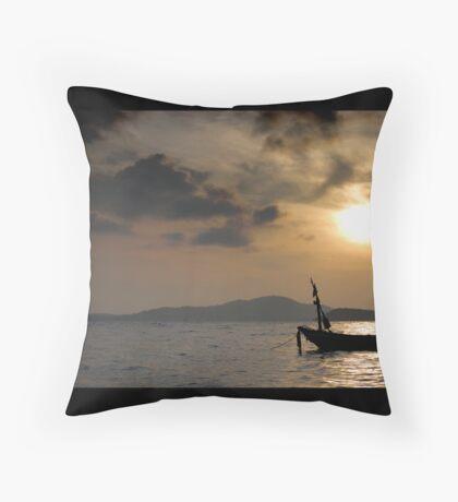 Samui Sunrise Throw Pillow