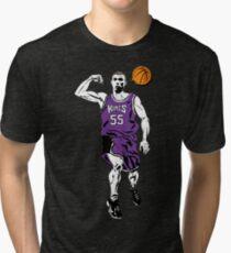 Jason Williams White Chocolate Basketball  Tri-blend T-Shirt
