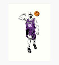 Jason Williams Weiße Schokolade Basketball Kunstdruck