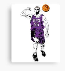 Jason Williams White Chocolate Basketball  Canvas Print