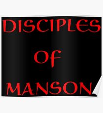 MANSON Poster