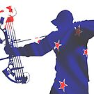 New Zealand Bow Hunter by Craig Stronner