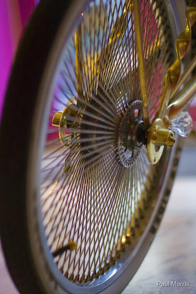 Lowrider Wheel by Paul Morris