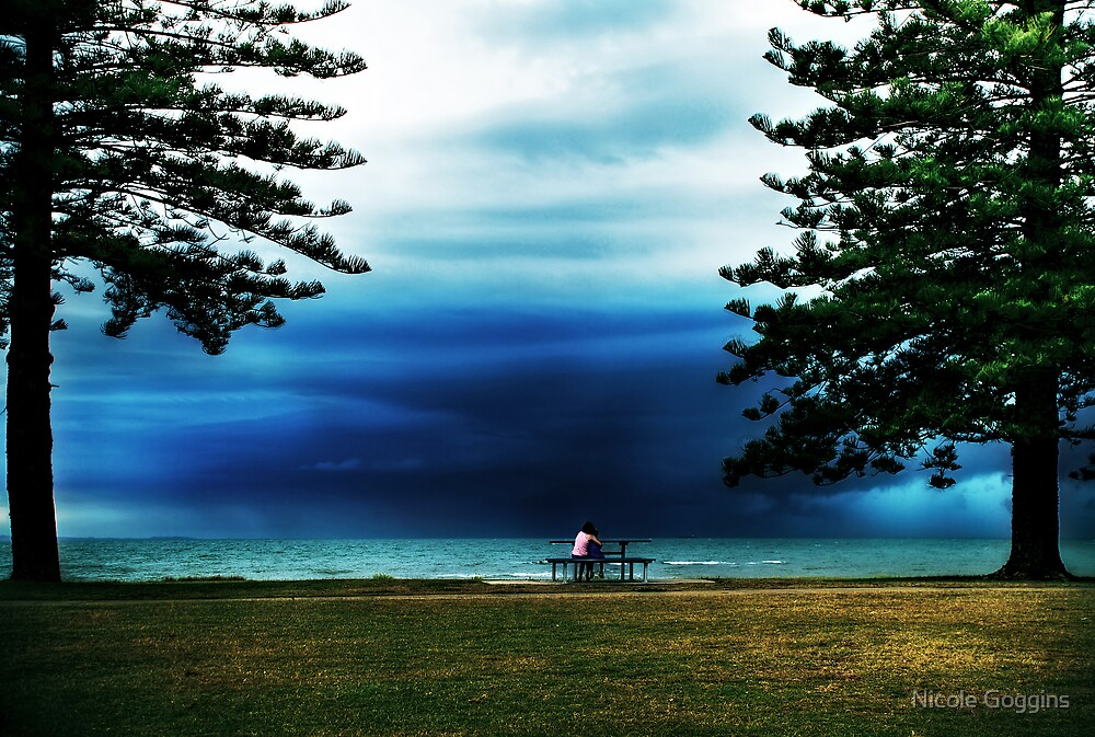 Watching the storm... by Nicole Goggins