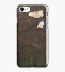 Gustav Klimt - Mother With Children iPhone Case/Skin