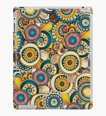 Retro Flowers - Unique, Colorful iPad Case/Skin
