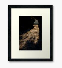 Elm Street Framed Print