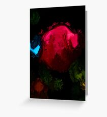Pink Rose in the Shadows Greeting Card