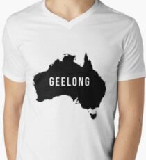 Geelong, Australia State Silhouette T-Shirt