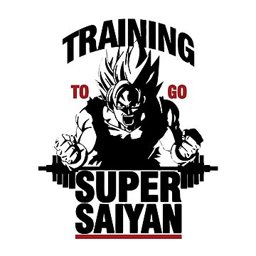TRAINING TO GO SUPER SAIYAN by aaronlriffle