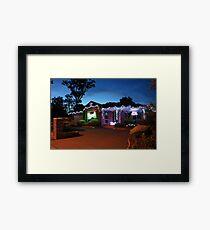 Christmas Lights, Duffy ACT Framed Print
