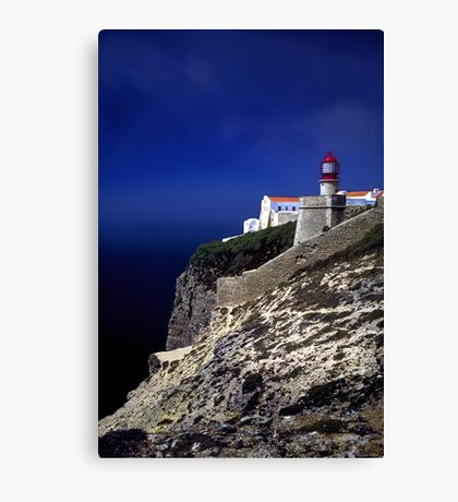 Algarve Lighthouse Canvas Print