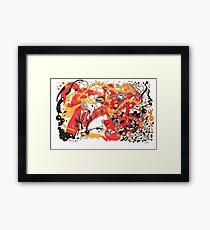 Eudaimonia Popup Framed Print