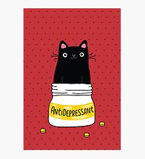 FUR ANTIDEPRESSANT Photographic Print