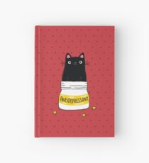 FUR ANTIDEPRESSANT Hardcover Journal