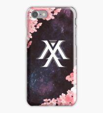 Monsta X Symbol - Galaxy Flowers iPhone Case/Skin