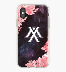 Monsta X Symbol - Galaxy Flowers iPhone Case