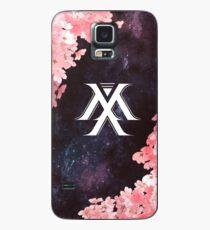 Monsta X Symbol - Galaxy Flowers Case/Skin for Samsung Galaxy