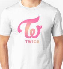Twice Logo Gradient Unisex T-Shirt