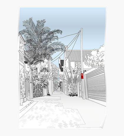 No Stopping - finalist paddington art prize 2007 Poster