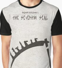 The Seventh Seal aka Det Sjunde Inseglet Graphic T-Shirt