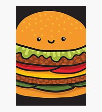 burger Photographic Print