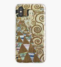 Gustav Klimt - Expectation 1909 iPhone Case/Skin