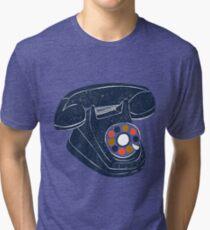 Retro Telephone Tri-blend T-Shirt