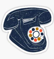 Retro Telephone Sticker