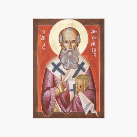St Athanasios the Great Art Board Print