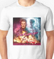 80's Style David Hasselhoff true survivor (Kung Fury) T-Shirt
