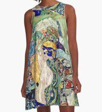 Gustav Klimt - Baby (Cradle) A-Line Dress