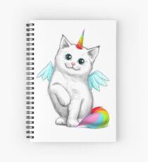 Cuaderno de espiral Cat unicorn