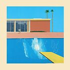 David Hockney A Bigger Splash by Mr-Hofmann