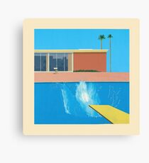 David Hockney A Bigger Splash Canvas Print