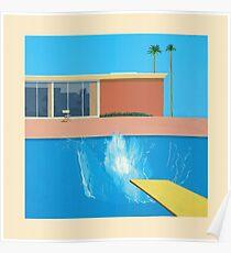 David Hockney A Bigger Splash Poster