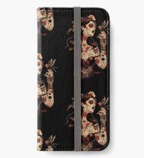 Tag der Toten, Tag der Toten, Dia De Los Muertos iPhone Flip-Case/Hülle/Klebefolie