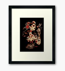 Day of the Dead Art, Day of the Dead Picture ,Dia De Los Muertos Framed Print