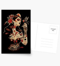 Day of the Dead Art, Day of the Dead Picture ,Dia De Los Muertos Postcards