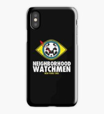 Neighborhood Watchmen iPhone Case