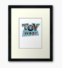 Toy Story Classic Vintage - To Infinity Framed Print