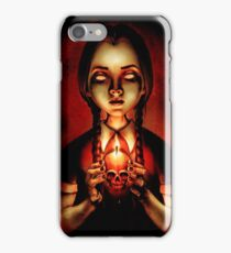 Zombie Wednesday Art Poster  iPhone Case/Skin