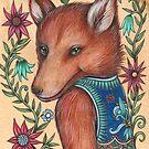 Flower Child (Card) by NadiaTurner