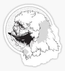 The Beast from The Ice Planet Sticker