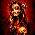 Day of the Dead Art, Day of the Dead Picture ,Dia De Los Muertos by Marcus Jones