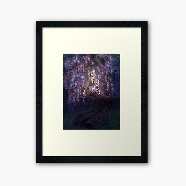 Wisteria Tree Framed Art Print